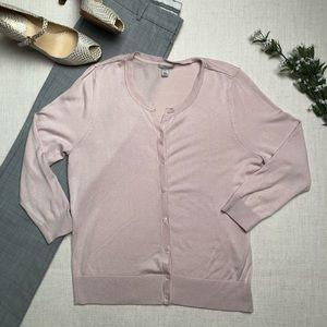 Halogen Blush Pink Cardigan Super Soft
